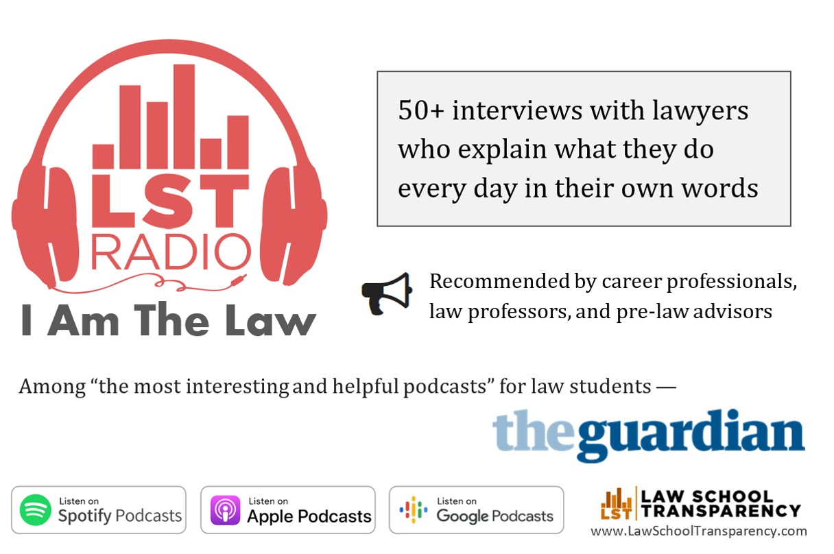 Listen to the I Am The Law podcast to learn about what lawyers do